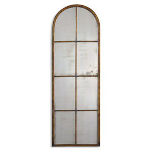 Uttermost Amiel Arched Brown Mirror 13463 P