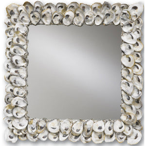 Oyster Shell Mirror by Currey and Company 1348