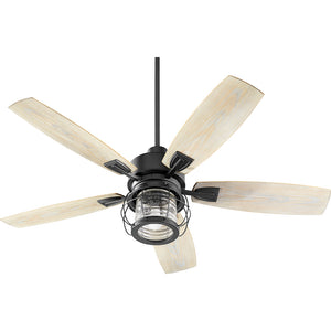 Galveston 1 Light Patio Fan in Noir Finish 13525-69