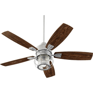 Galveston 1 Light Patio Fan in Galvanized Finish 13525-9