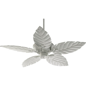 Monaco Patio Fan in Studio White Finish 135525-8