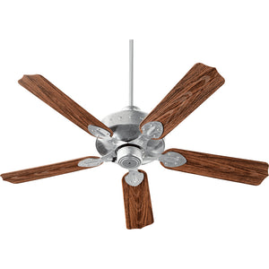Hudson Patio Fan in Galvanized Finish 137525-924