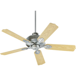 Hudson Patio Fan in Galvanized Finish 137525-9