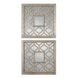 Uttermost Sorbolo Squares Decorative Mirror Set/2 13808