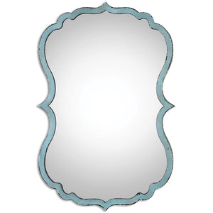 Uttermost Nicola Light Blue Mirror 13925