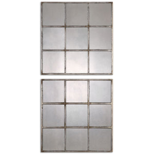 Uttermost Derowen Squares Antique Mirrors S/2 13935