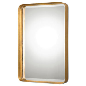 Uttermost Crofton Antique Gold Mirror 13936