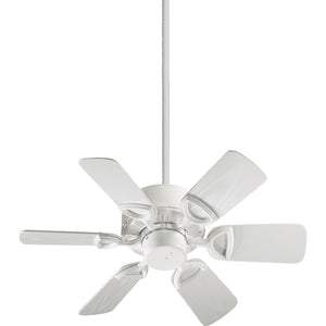 Estate Patio Patio Fan in White Finish 143306-6