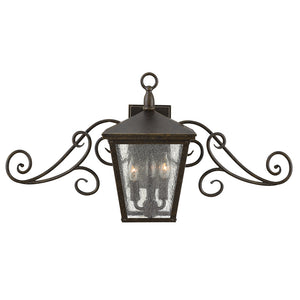 Trellis Outdoor Wall Mount by Hinkley 1433RB Regency Bronze