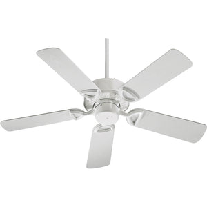 Estate Patio Patio Fan in White Finish 143425-6