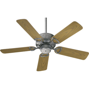 Estate Patio Patio Fan in Galvanized Finish 143425-9