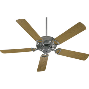Estate Patio Patio Fan in Galvanized Finish 143525-9