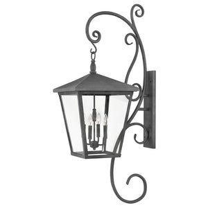 Trellis Outdoor Wall Mount by Hinkley 1439DZ Aged Zinc