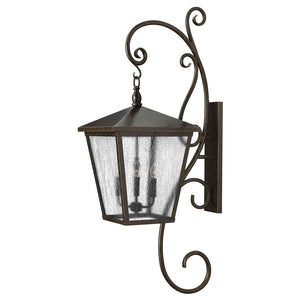 Trellis Outdoor Wall Mount by Hinkley 1439RB Regency Bronze
