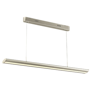 PLC Lighting 14839AL Archie Collection 1 Light Ceiling Mount in Aluminum Finish