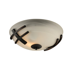 PLC Lighting 14870 ORB Antasia Collection 1 Light Ceiling in Oil Rubbed Bronze Finish