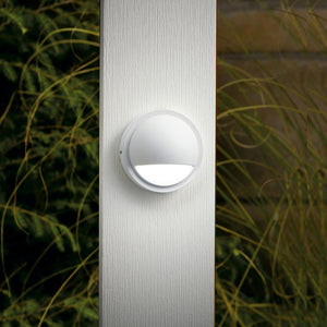 1 Light Deck Landscape Lighting in Textured White Finish by Kichler 15064WHT