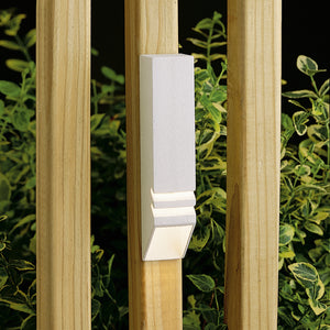 1 Light Deck Landscape Lighting in Textured White Finish by Kichler 15066WHT