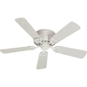 Medallion Patio Combo1 Light Patio Fan in Studio White Finish 151425-8