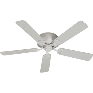 Medallion Patio Combo1 Light Patio Fan in Studio White Finish 151525-8