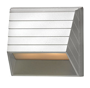 Deck Square Sconce Led Landscape Deck And Patio by Hinkley 1524MW-LED Matte White