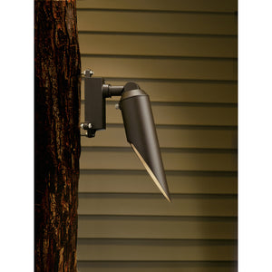 1 Light Downlight Landscape Lighting in Textured Architectural Bronze Finish by Kichler 15494AZT