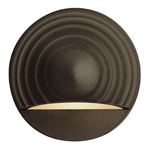 Deck Round Led Landscape Deck And Patio by Hinkley 1549BZ-LED Bronze
