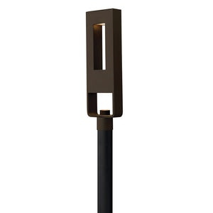 Atlantis Outdoor Post Mount by Hinkley 1641BZ-LED Bronze