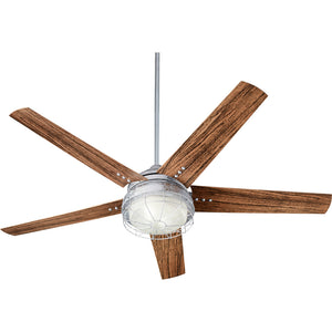 Westland 2 Light Patio Fan in Galvanized Finish 16605-9
