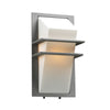 PLC Lighting 1741 SL Juventus Collection 1 Light Exterior in Silver Finish