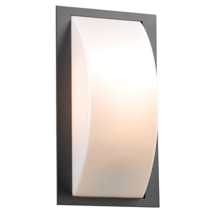 PLC Lighting 1742 BZ Breda Collection 1 Light Exterior in Bronze Finish