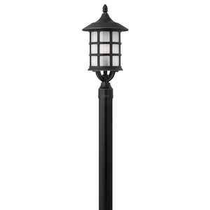 Freeport Outdoor Post Mount by Hinkley 1801OP-LED Olde Penny