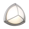 PLC Lighting 1846 SL Canterbury Collection 1 Light Exterior in Silver Finish