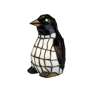 "8""H Penguin Accent Lamp by Meyda 18470"