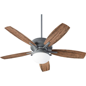 Eden 2 Light Patio Fan in Zinc Finish 18525-17