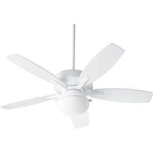 Eden 2 Light Patio Fan in White Finish 18525-6