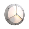 PLC Lighting 1859 SL Cassandra-I Collection 1 Light Exterior in Silver Finish
