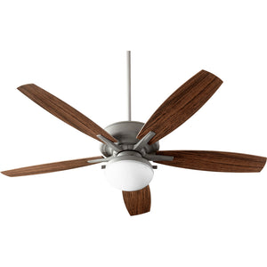 Eden 2 Light Patio Fan in Zinc Finish 18605-17