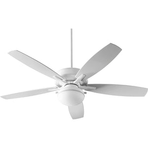 Eden 2 Light Patio Fan in White Finish 18605-6