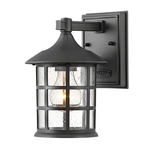 Freeport Outdoor Wall Mount by Hinkley 1860TK Coastal Elements Textured Black