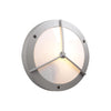 PLC Lighting 1860 SL Cassandra-II Collection 1 Light Exterior in Silver Finish