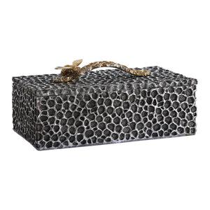 Uttermost Hive Aged Black Box 18900