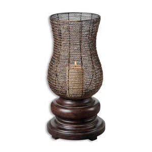 Uttermost Rickma Distressed Candleholder 19290