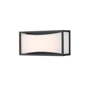 Baden LED Vanity in Matte Black by Z-Lite 1933-8MB-LED