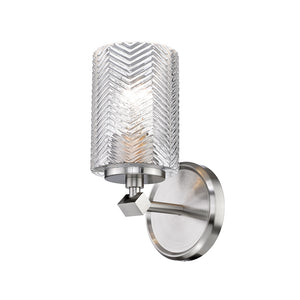Dover Street 1 Light Wall Sconce in Brushed Nickel by Z-Lite 1934-1S-BN