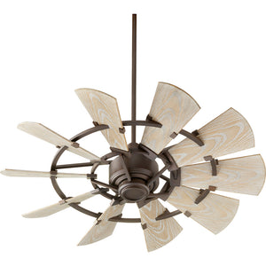 Windmill Patio Fan in Oiled Bronze Finish 194410-86