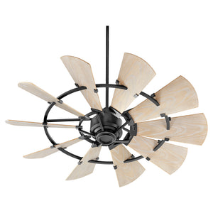 Windmill Patio Fan in Noir Finish 195210-69