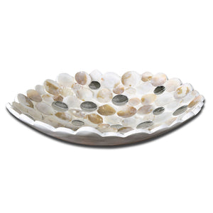 Uttermost Capiz Shell Accented Bowl 19617