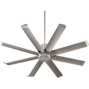 Proxima Patio Patio Fan in Satin Nickel Finish 196608-65
