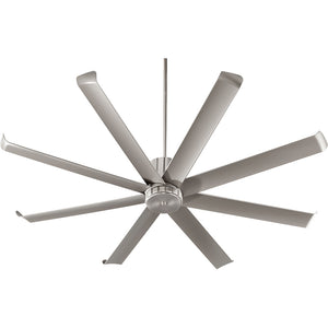 Proxima Patio Patio Fan in Satin Nickel Finish 196728-65